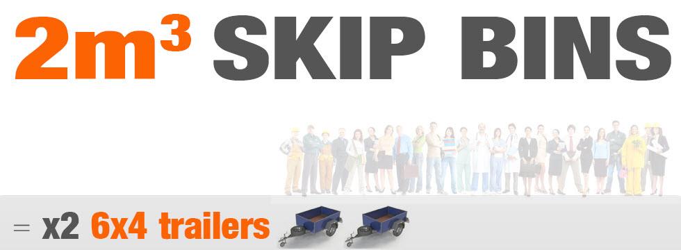 2m Skip Bins